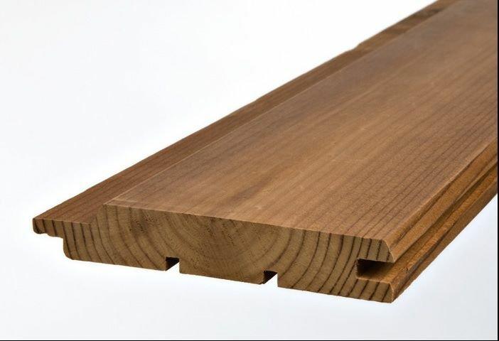 چوب اصلاح شده نمای ساختمان، چوب نما