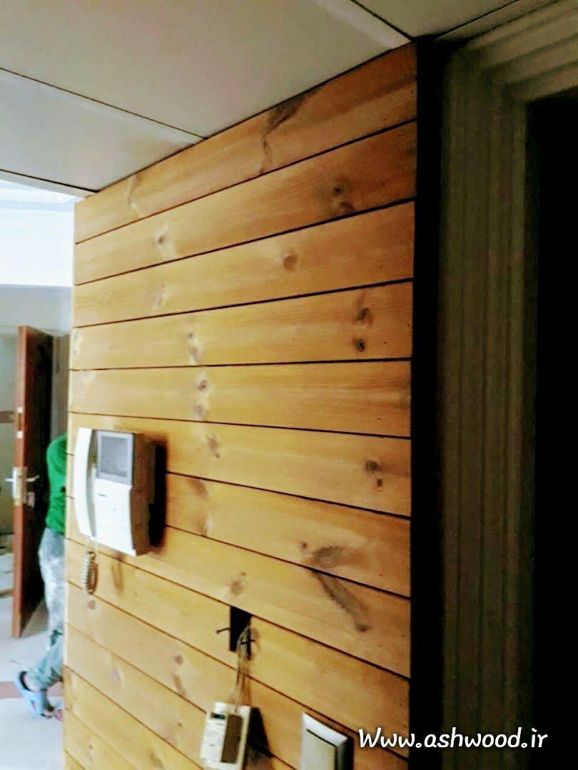 دکوراسیون داخلی ساخته شده از چوب ترمووود