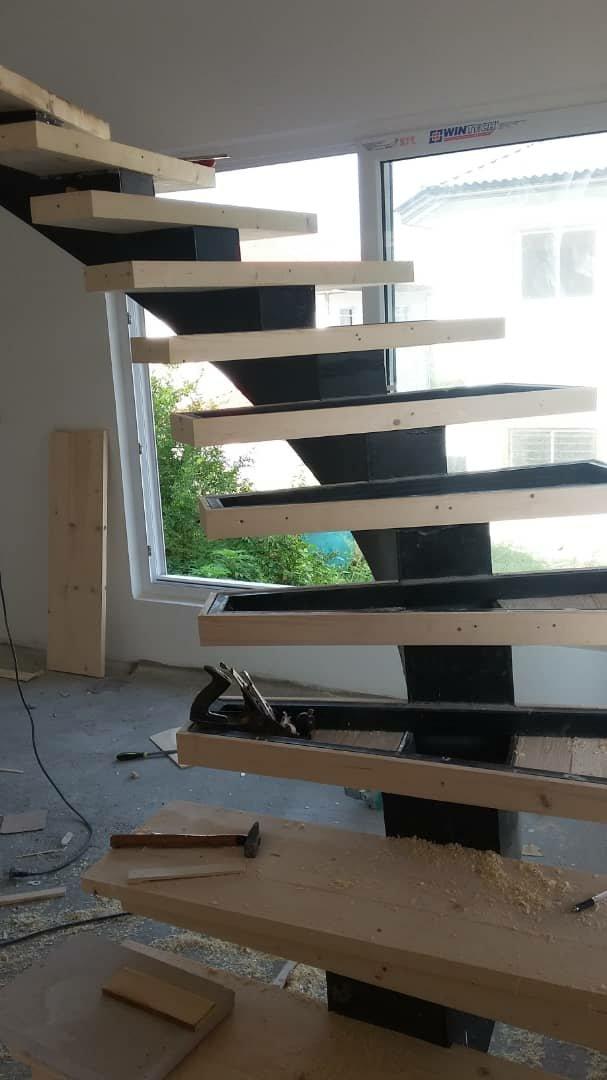 مدل های جالب پله چوبی