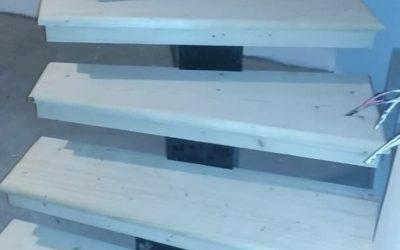 اجزای یک پله و ابعاد استاندارد پله