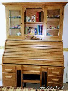 میز تحریر و کتابخانه انتیک ایتالیایی