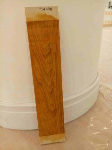 قرنیز چوب راش المان پلی مایر، نمونه رنگ