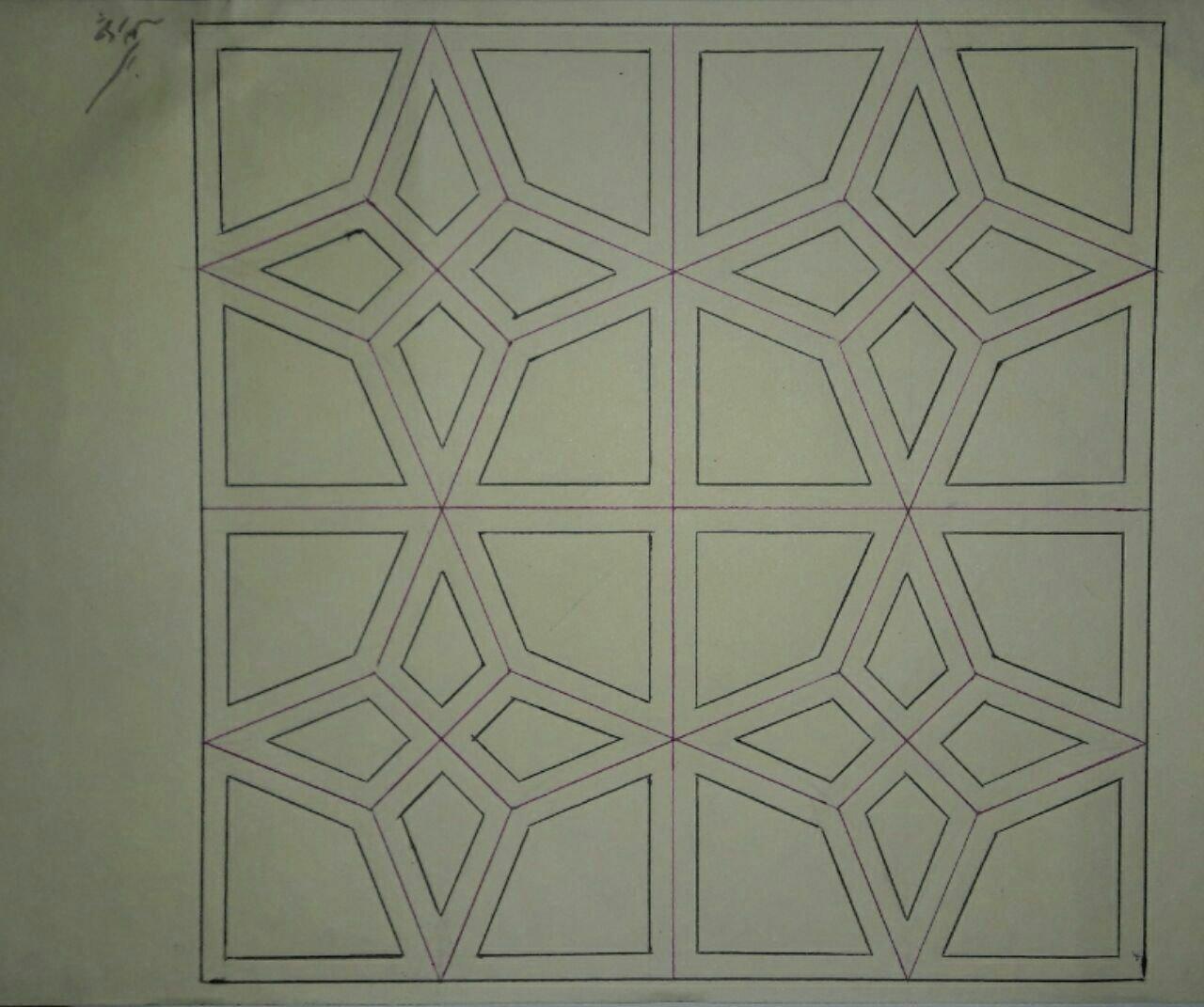 هنر گره سازی و گره چینی و رسم نقوش هندسی