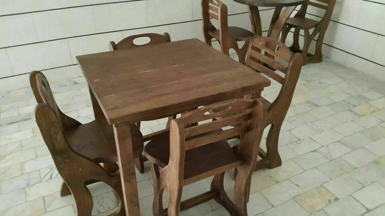 میز و صندلی و مبلمان سبک روستیک