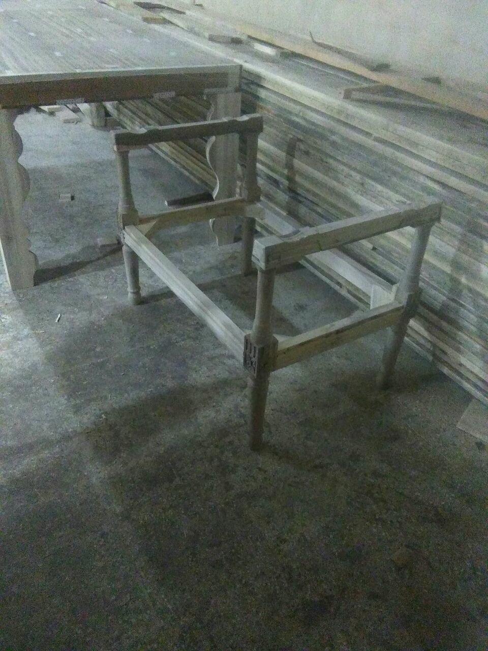 میز و صندلی طرح خراطی ابتکاری