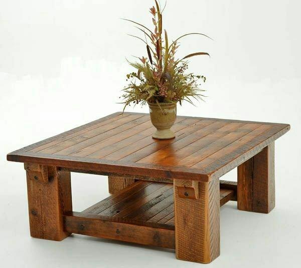 میز جلو مبلی تمام چوب با رنگ پلی استر