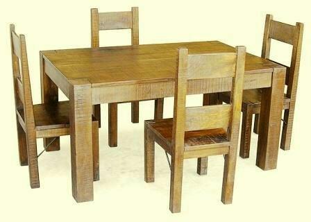 میز ناهار خوری تمام چوب