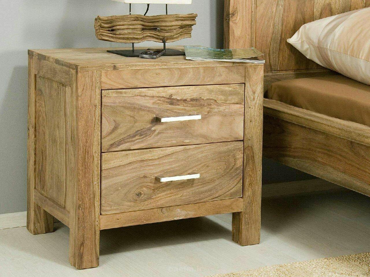 دراور پا تختی، سرویس خواب تمام چوب