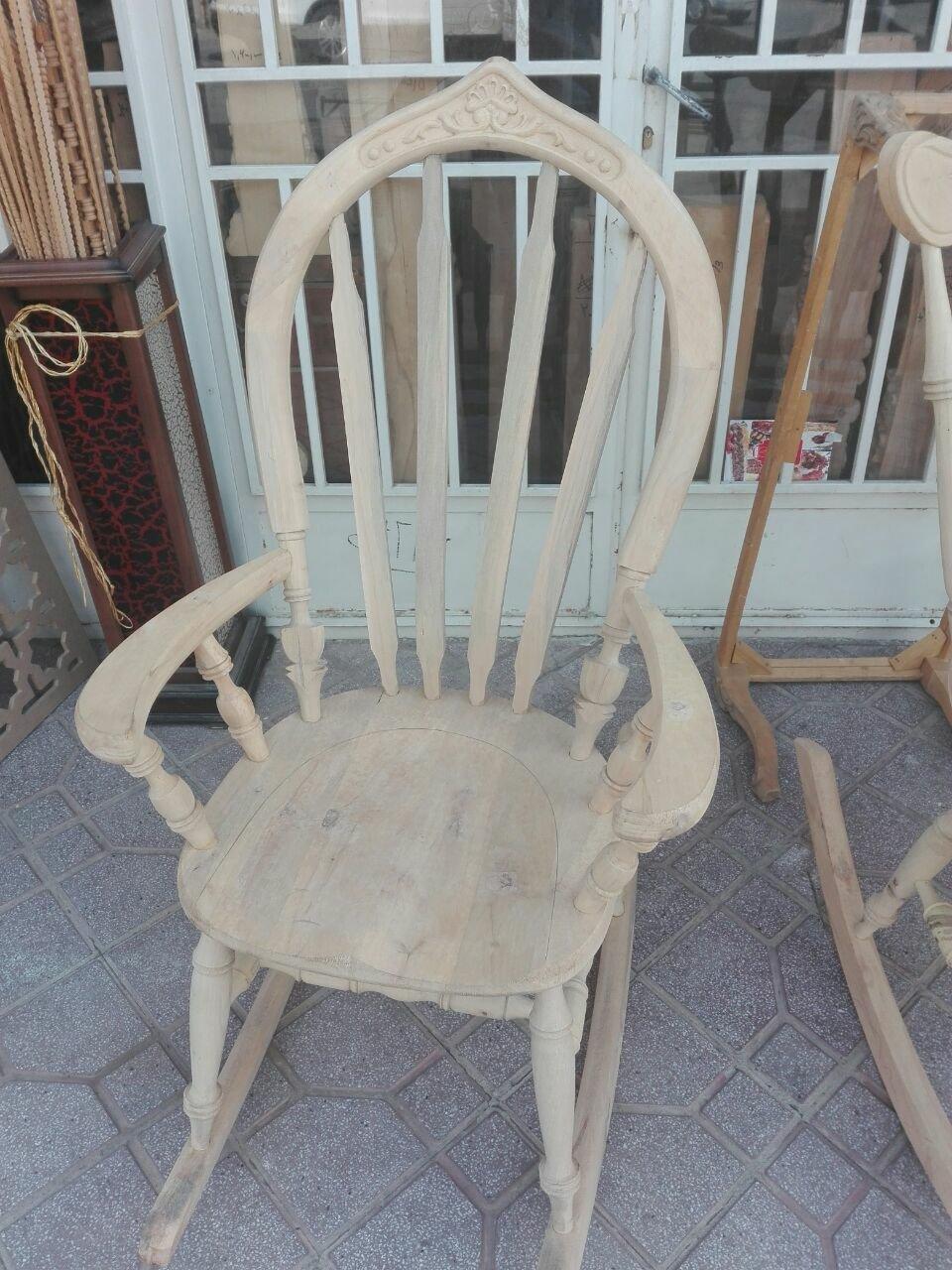 صندلی راک منبت