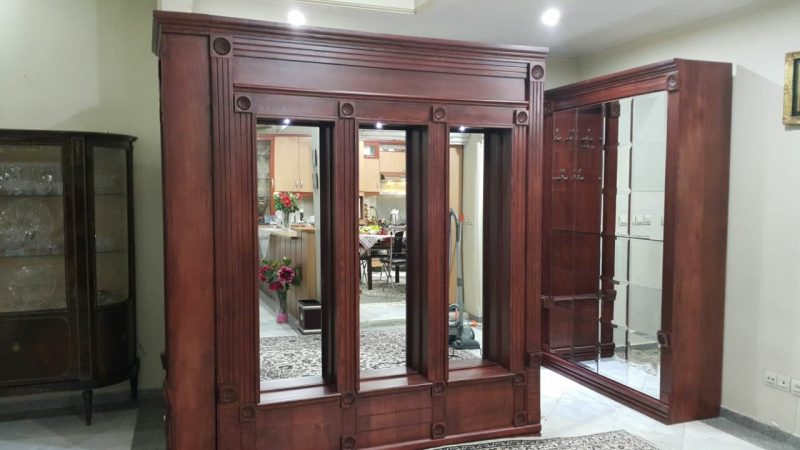 دکوراسیون چوبی داخلی , پارتیشن و کمد دیواری