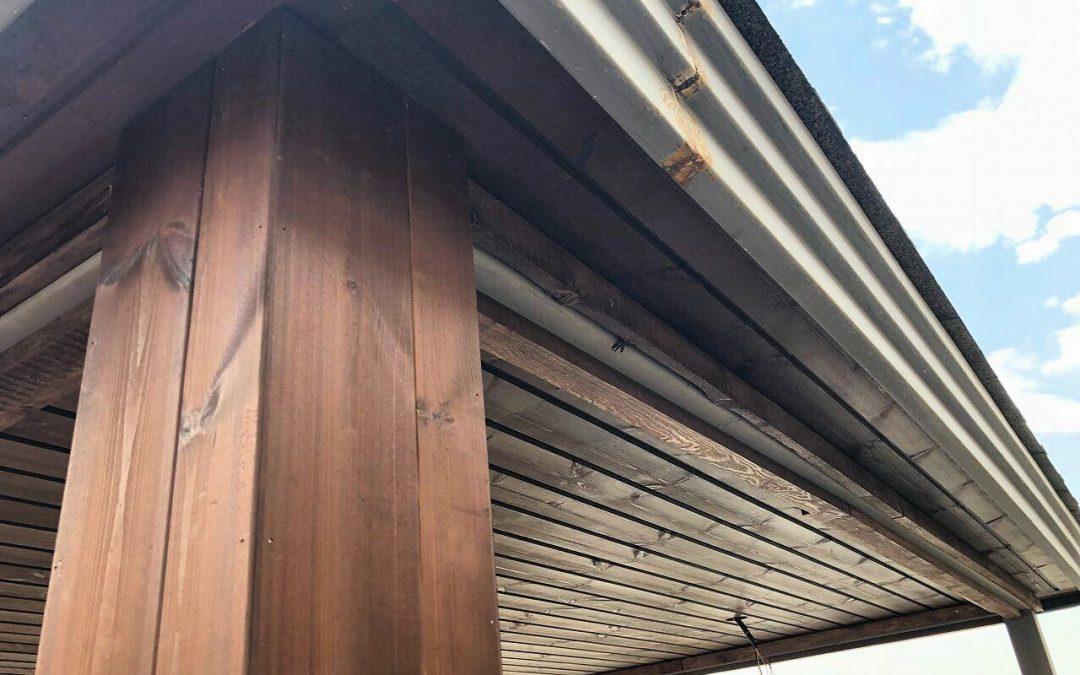 کاور چوبی ستون، اجرای کاور ستون