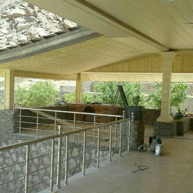 لمبه سقف کاذب، کاور ستون