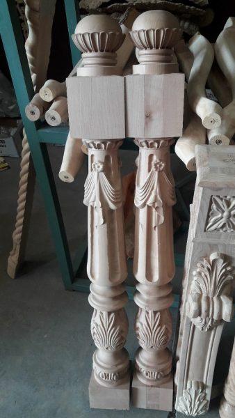عکس اجزای پله چوبی , ایده های جدید نرده و دست انداز