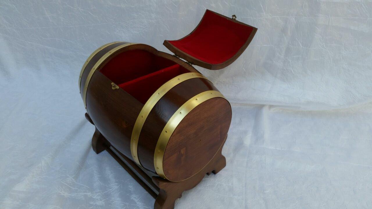 دکوراسیون بشکه چوبی، عکس بشکه و صندوقچه بشکه