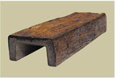 تیرچه و تیر و ستون چوب