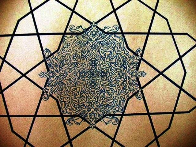 نقوش هندسی در هنر و معماری ایران