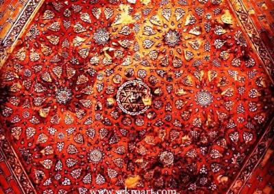 هنر سنتی ایران زمین ، نقوش و طرح گره چینی ، هنر اسلامی