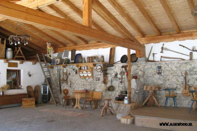 کلبه چوبی , شکارگاه