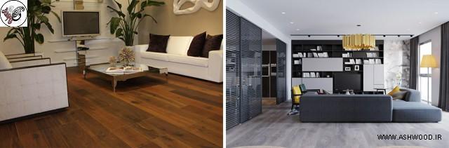 کفپوش روکش چوب در مقابل کف پوش تمام چوب. کدام یک را انتخاب کنید؟