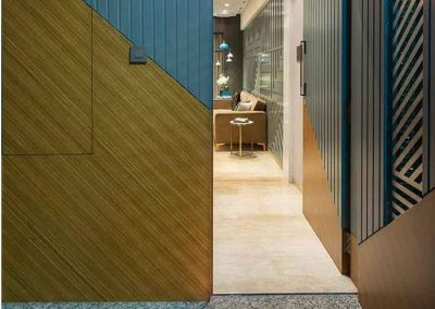 درب چوبی هندسی , ساخت درب چوبی