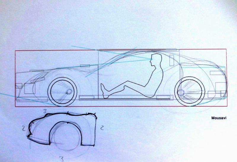 طراحی بدنه ماشین