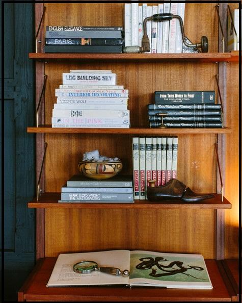 قفسه کتاب سبک رومی ( کتابخانه )