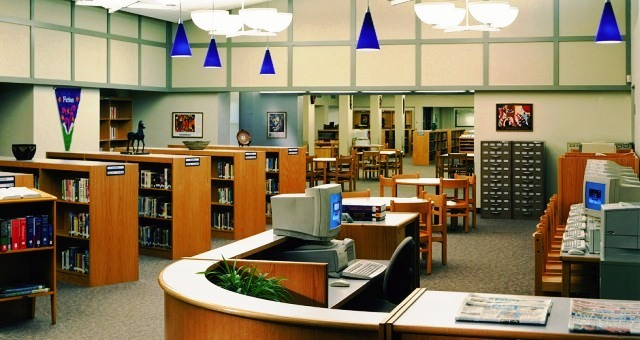 کتابخانه عمومی , دکوراسیون داخلی