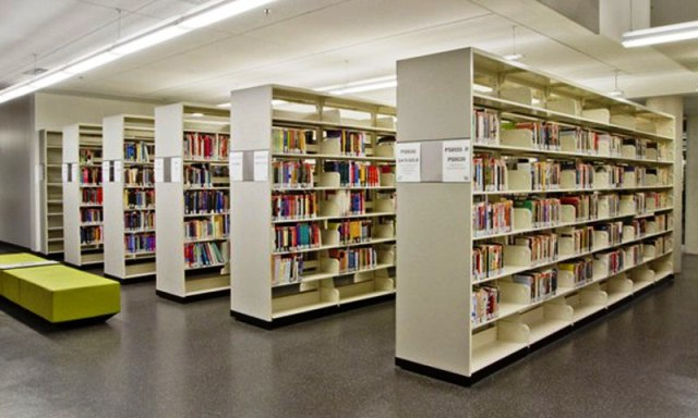 اندازه های استاندارد کتابخانه