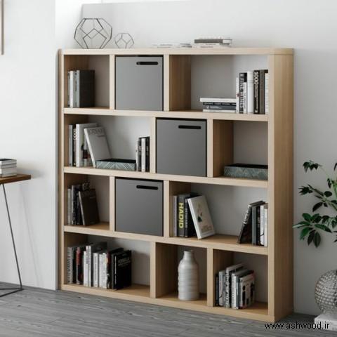 دکوراسیون چوبی کتابخانه