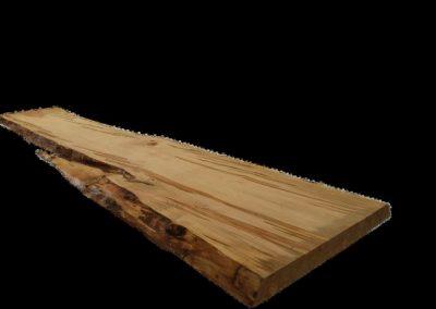 چوب طبیعی , لبه زنده چوب