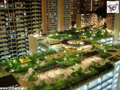 طراحی باغ و طراحی آلاچیق , پرگولا و سقف تیر و تیرچه چوبی
