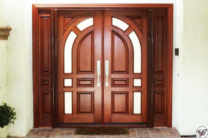 درب و چهارچوب در ورودی ساختمان، درب لابی