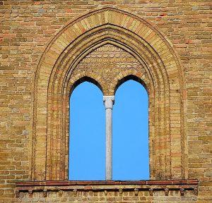 ستون و باد بند درگاه پنجره