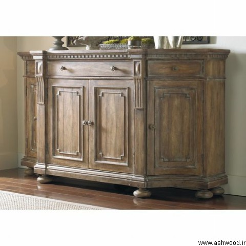 میز کنسول چوبی , میز بار چوبی کلاسیک , دکوراسیون چوبی لوکس