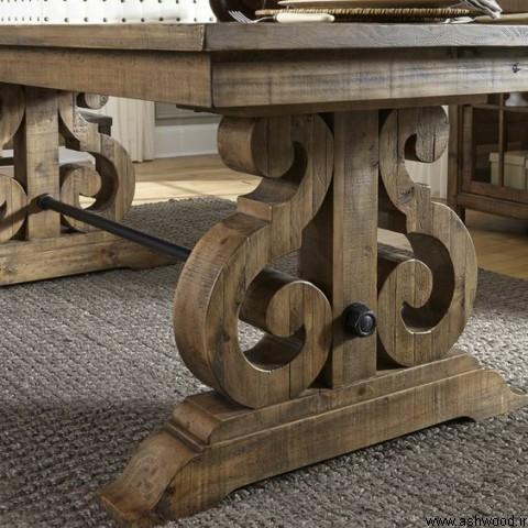 میز چوبی , میز ناهارخوری