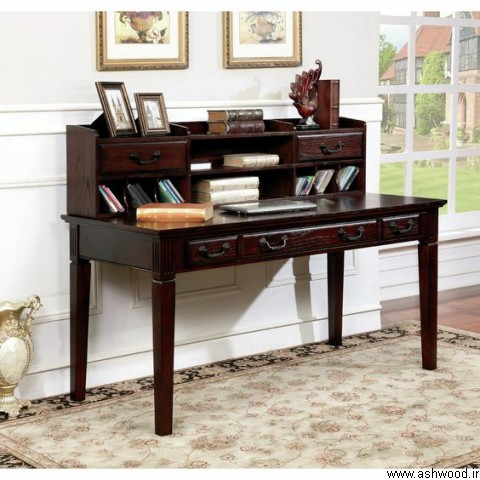 قیمت میز تحریر چوبی , ساخت میز تحریر چوبی , مدل میز تحریر