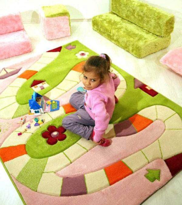 نکات مهم در هنگام خرید فرش اتاق کودک