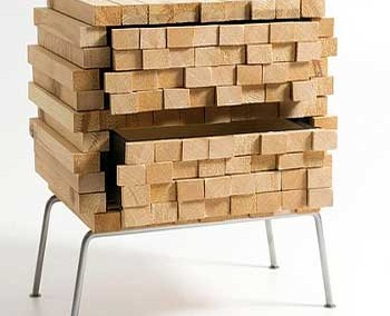 کنسول چوبی مدرن