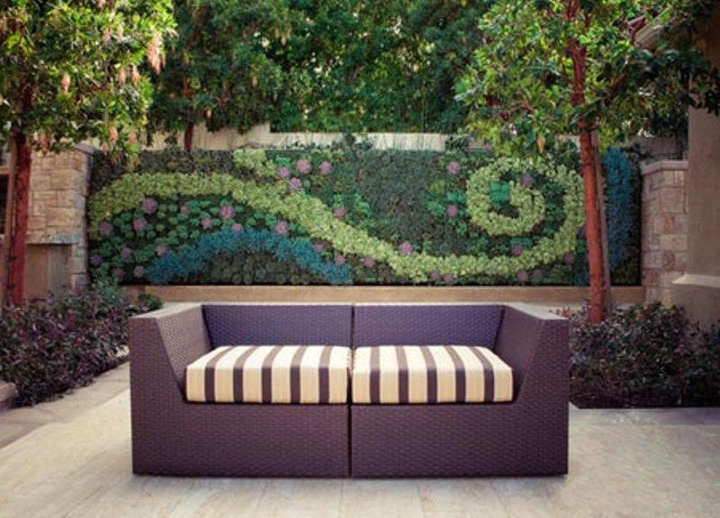 مدل مبلمان مناسب حیاط و باغ