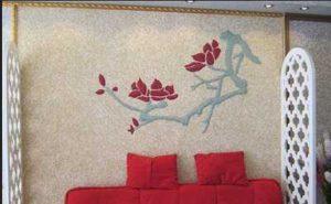 دیوارهای بلکا دردکوراسیون خانه.