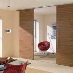 درب ریلی چوبی