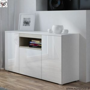 مدل کنسول چوبی مدرن