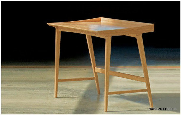 میز تحریر زیبا کار دست در نجاری + قیمت