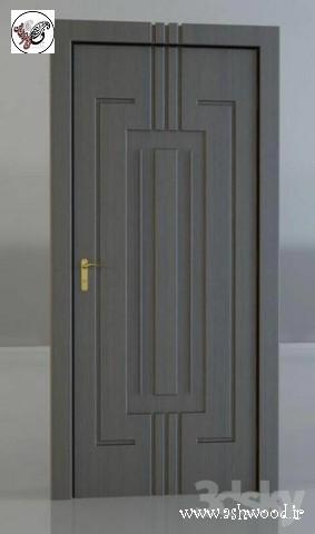 درب چوبی مدرن, درب مدل cnc