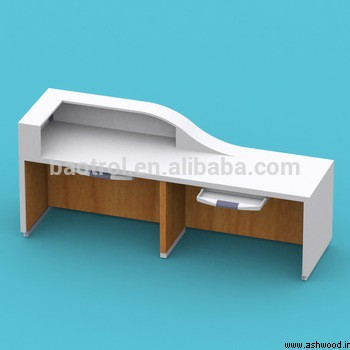 میز کانتر , قیمتمیزکانتری , پیشخوان پذیرش طراحی مدرن ساده, میز لابی
