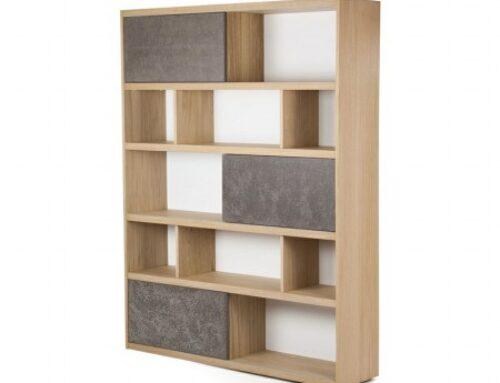 قفسه های چوبی دیواری، در هم آمیختن کارایی و زیبایی در دکوراسیون چوبی