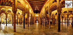 عکس مسجد قرطبه از زیباترین مساجد اندلس