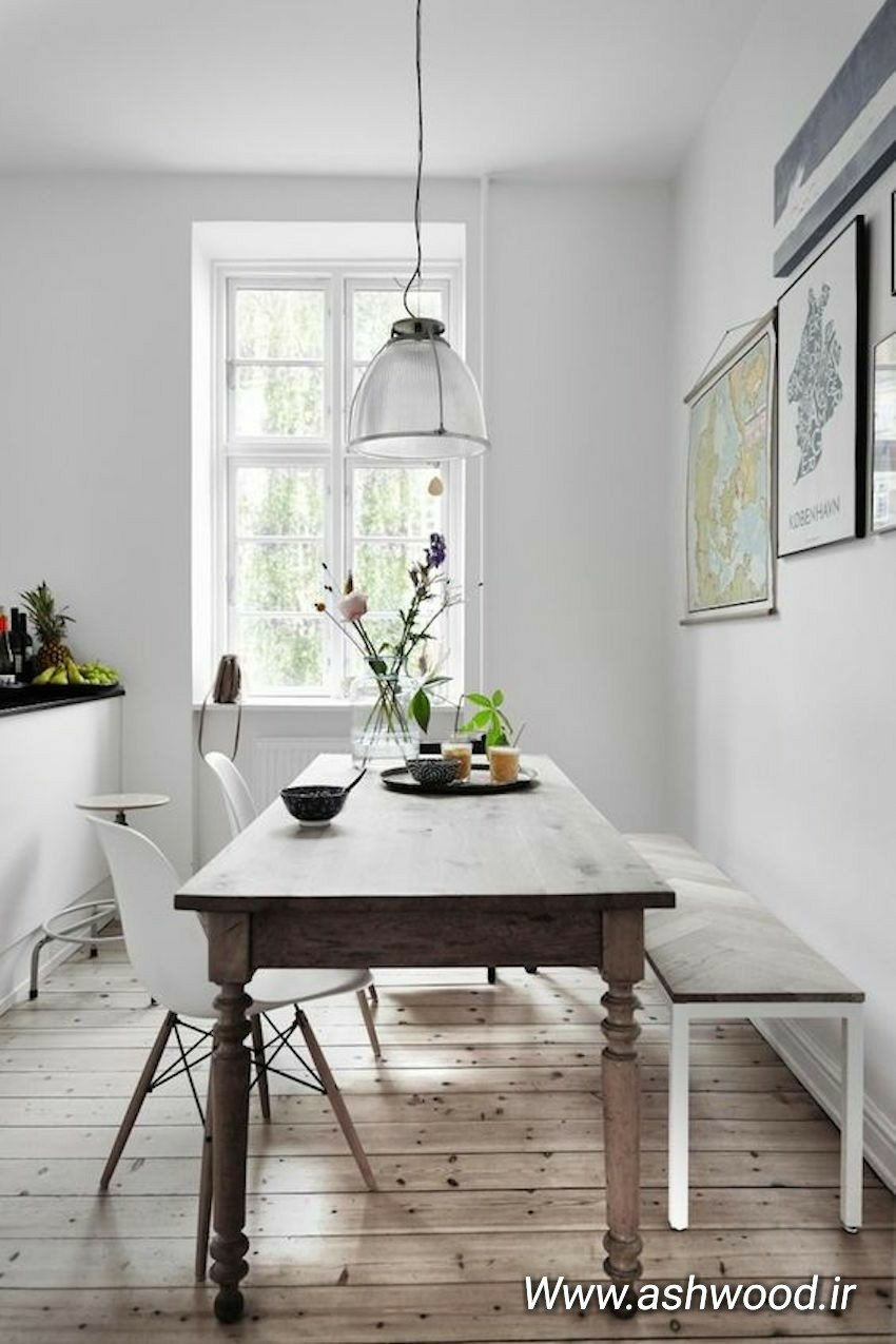 ایده های جدید از میز و صندلی آشپزخانه، میز ناهارخوری 2018