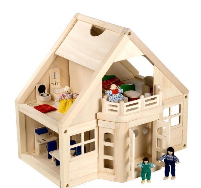 خانه های چوبی عروسکی (اسباب بازی) بسیار جالب