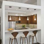 اپن آشپزخانه و تبدیل آن به میز بار , دکوراسیون آشپزخانه